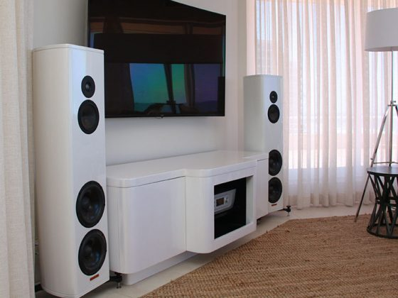 Magico S3 Speakers in Pearl White