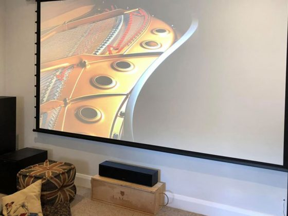 Motorised Cinema Conversion