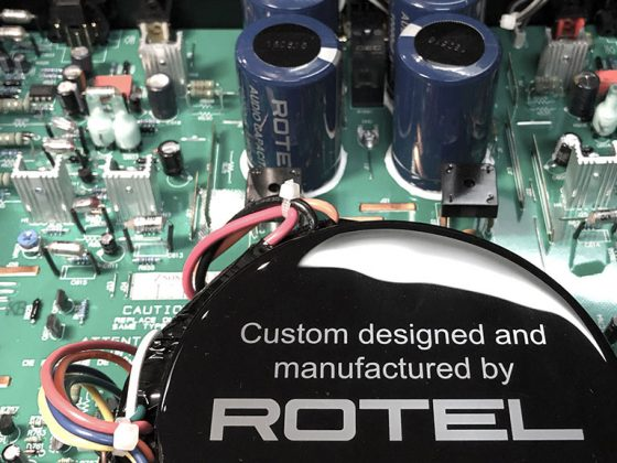 Rotel RB1552II Amplifier