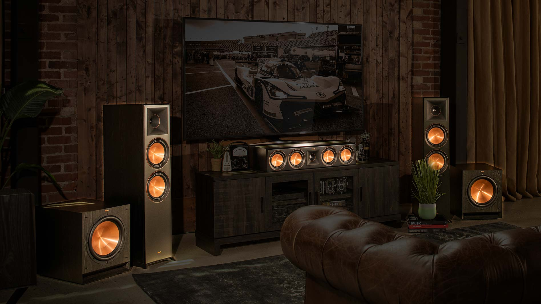 Klipsch Glowing Speaker Header