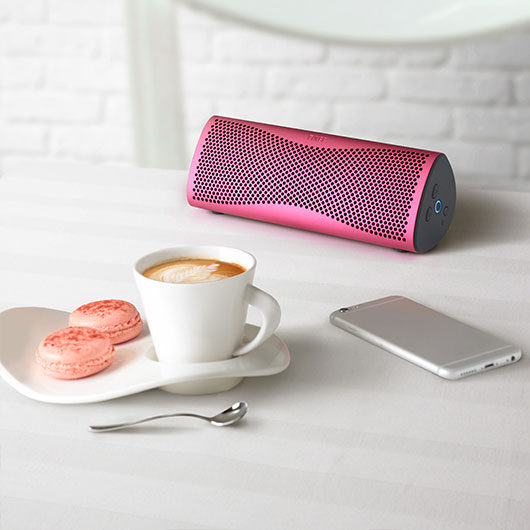 Pink KEF Muo Wireless Speaker