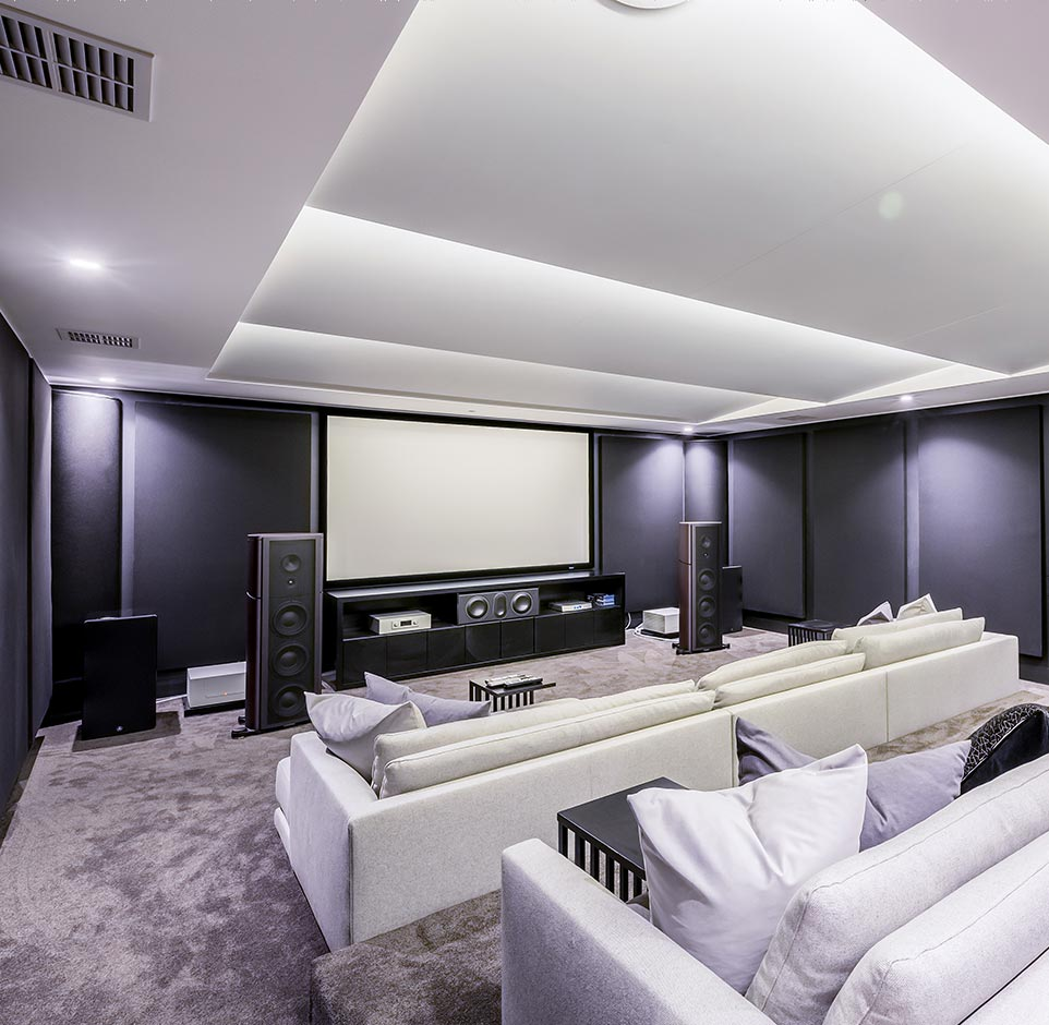 personalised home theatres Audio Excellence